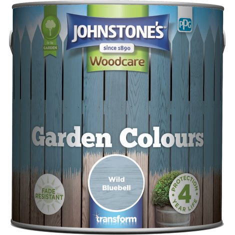 Johnstone's Garden colours Exterior Wood Paint 2.5L (select colours)