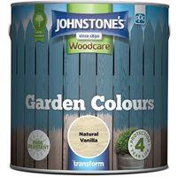 Johnstone's Garden colours Exterior Wood Paint 2.5L (select colours)