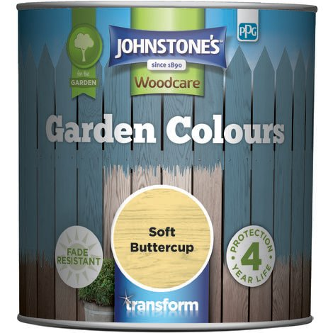 Johnstone's Garden Colours Soft Buttercup 1l