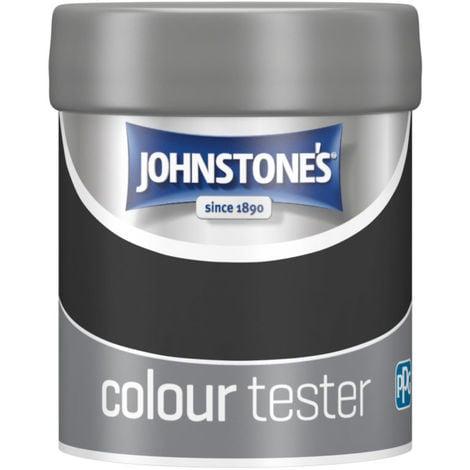Johnstones Interior Matt Emulsion Black 75ml