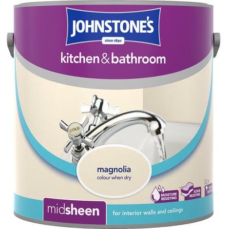 Johnstones Kitchen And Bathroom Magnolia 2.5 Litre
