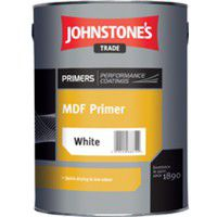 Johnstone's MDF Primer White - 2.5 Litres