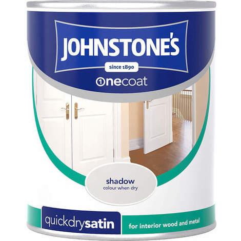 Johnstones One Coat Quick Dry Satin Shadow 750ml