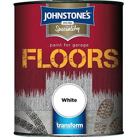 Johnstone's Paint for Garage Floors 750ml (choose colour)