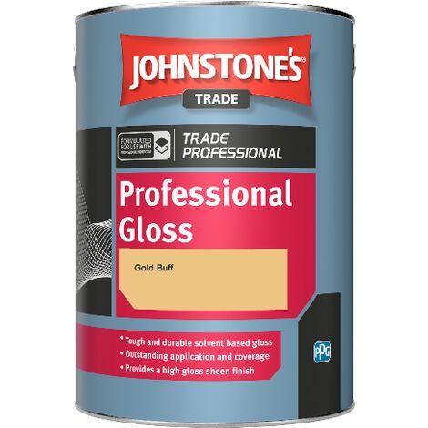 Johnstone's Professional Gloss - Gold Buff - 2.5ltr
