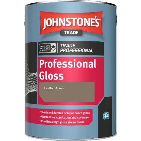 Johnstone's Professional Gloss - Leather Apron - 5ltr