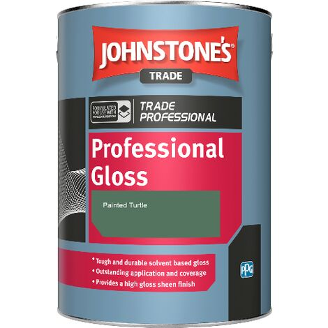 Johnstone's Professional Gloss - Painted Turtle - 2.5ltr