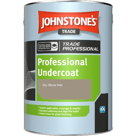 Johnstone's Professional Undercoat - Dry Stone Wall - 1ltr