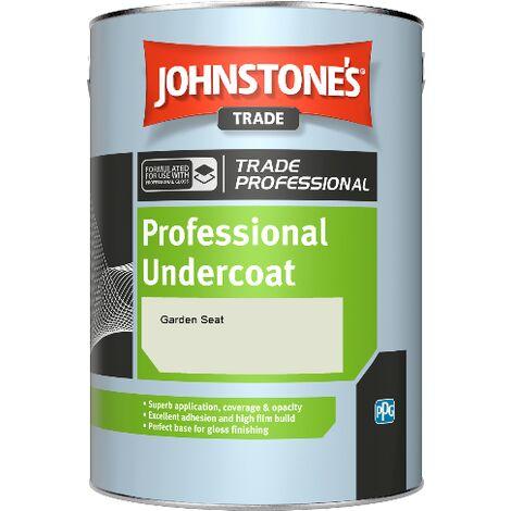 Johnstone's Professional Undercoat - Garden Seat - 5ltr