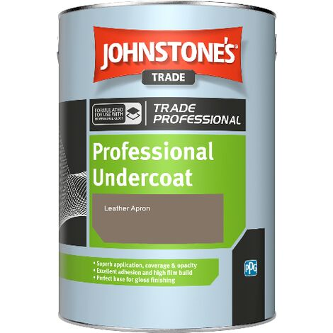 Johnstone's Professional Undercoat - Leather Apron - 5ltr
