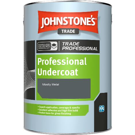 Johnstone's Professional Undercoat - Mostly Metal - 1ltr