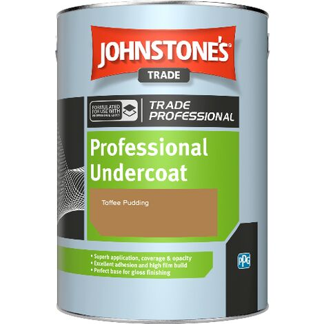 """main image of """"Johnstone's Professional Undercoat - Toffee Pudding - 1ltr"""""""