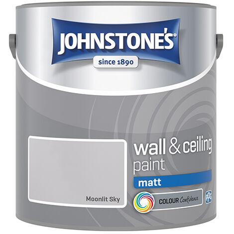 """main image of """"Johnstones Vinyl Matt Emulsion Moonlit Sky"""""""
