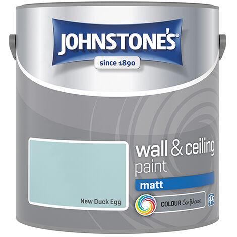 """main image of """"Johnstones Vinyl Matt Emulsion New Duck Egg"""""""