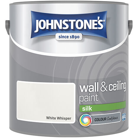 """main image of """"Johnstone's Retail Wall & Ceiling Paint Silk White Whisper 2.5 - White Whisper"""""""