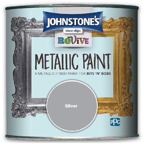 Johnstone's Revive Metallic Paint 375ml (choose colour)