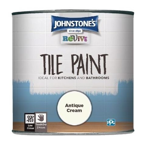 Johnstone's Revive Tile Paint 750ml (choose colour)