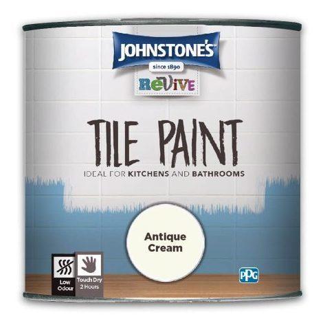Johnstone's Revive Tile Paint 750ml (choose colour)