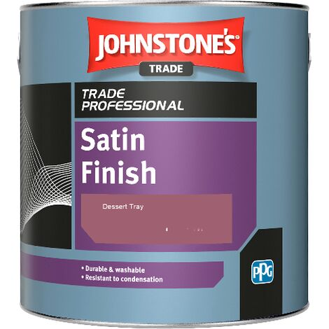 Johnstone's Satin Finish - Dessert Tray - 2.5ltr