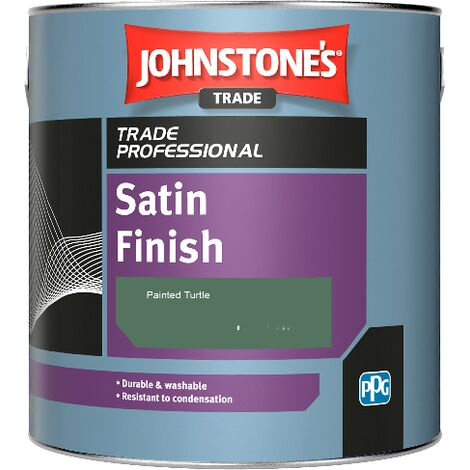 Johnstone's Satin Finish - Painted Turtle - 1ltr