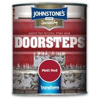 Johnstone's Speciality Paint for Bricks, Tiles and Doorsteps 750ml