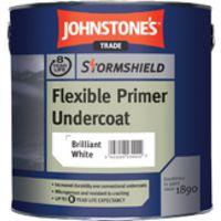 Johnstone's Stormshield Flexible Primer Undercoat 2.5l - brilliant white - 2.5 Litres