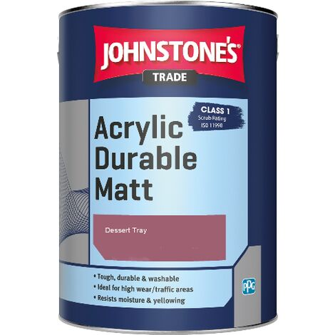 Johnstone's Trade Acrylic Durable Matt - Dessert Tray - 5ltr