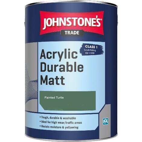 Johnstone's Trade Acrylic Durable Matt - Painted Turtle - 2.5ltr