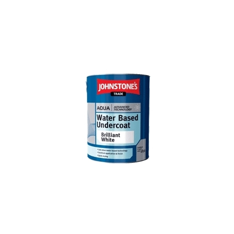Johnstone's Trade Aqua Water Based Undercoat (select size& colour)