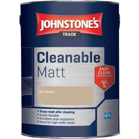 Johnstone's Trade Cleanable Matt - Best Beige - 2.5ltr
