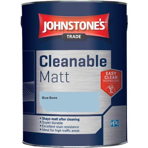 Johnstone's Trade Cleanable Matt - Blue Bows - 2.5ltr