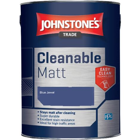 Johnstone's Trade Cleanable Matt - Blue Jewel - 5ltr