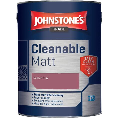 Johnstone's Trade Cleanable Matt - Dessert Tray - 5ltr