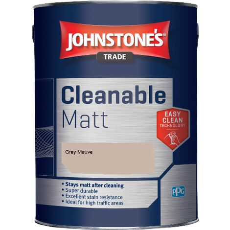 Johnstone's Trade Cleanable Matt - Grey Mauve - 5ltr
