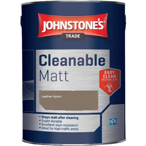 Johnstone's Trade Cleanable Matt - Leather Apron - 2.5ltr