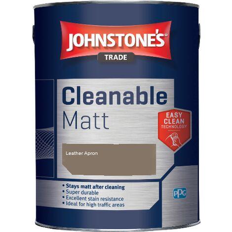 Johnstone's Trade Cleanable Matt - Leather Apron - 5ltr