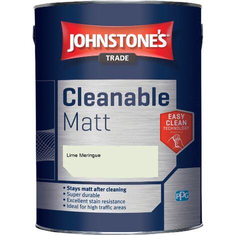 Johnstone's Trade Cleanable Matt - Lime Meringue - 5ltr