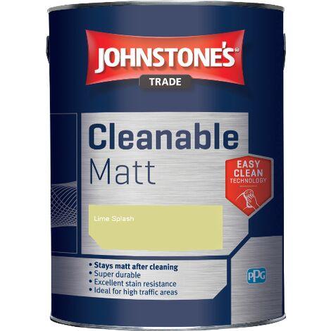 Johnstone's Trade Cleanable Matt - Lime Splash - 5ltr