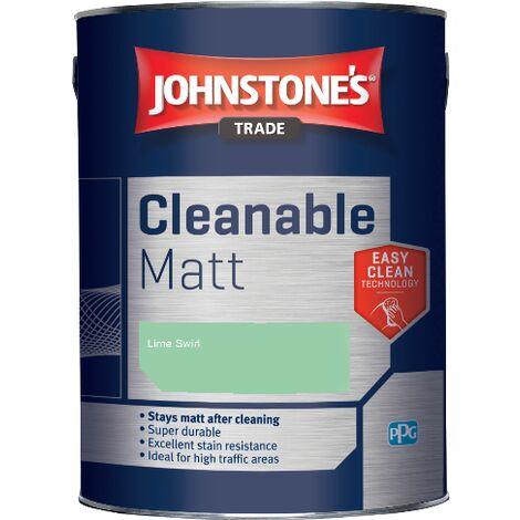 Johnstone's Trade Cleanable Matt - Lime Swirl - 5ltr