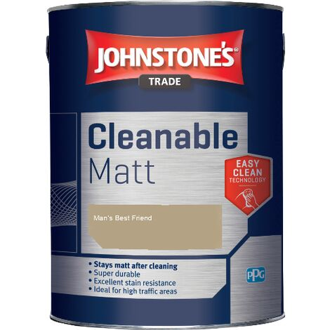 Johnstone's Trade Cleanable Matt - Man's Best Friend - 5ltr