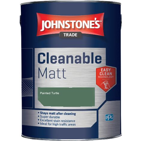 Johnstone's Trade Cleanable Matt - Painted Turtle - 2.5ltr
