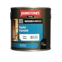 Johnstones Trade Clear Yacht Varnish - 5 Litres