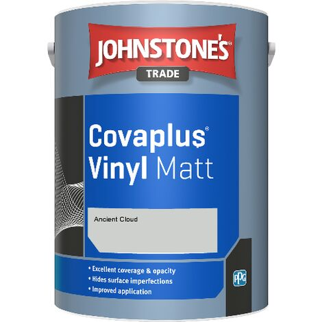 Johnstone's Trade Covaplus Vinyl Matt - Ancient Cloud - 5ltr