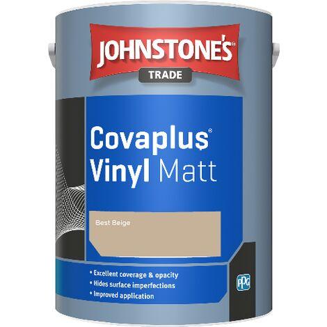 Johnstone's Trade Covaplus Vinyl Matt - Best Beige - 2.5ltr