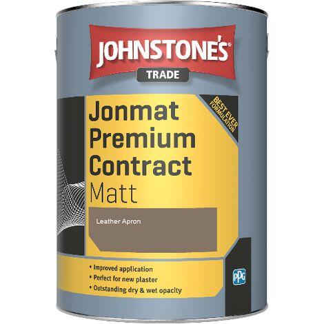 Johnstone's Trade Jonmat Premium Contract Matt - Leather Apron - 5ltr