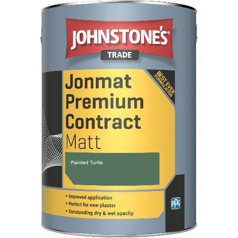 Johnstone's Trade Jonmat Premium Contract Matt - Painted Turtle - 5ltr
