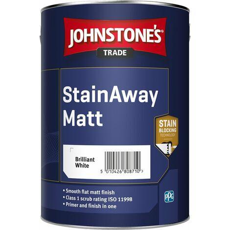 Johnstone's Trade StainAway Matt Brilliant White (select size)