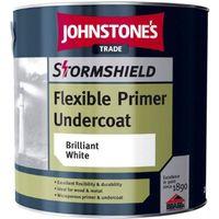 Johnstones Trade Stormshield Flexible Undercoat Brilliant White - 2.5 Litres
