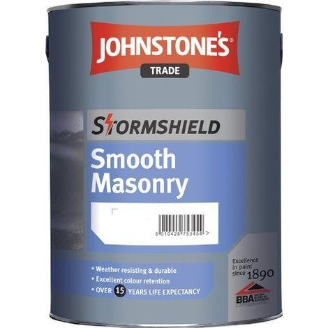 Johnstones Trade Stormshield Smooth Emulsion Brilliant White - 5 Litres