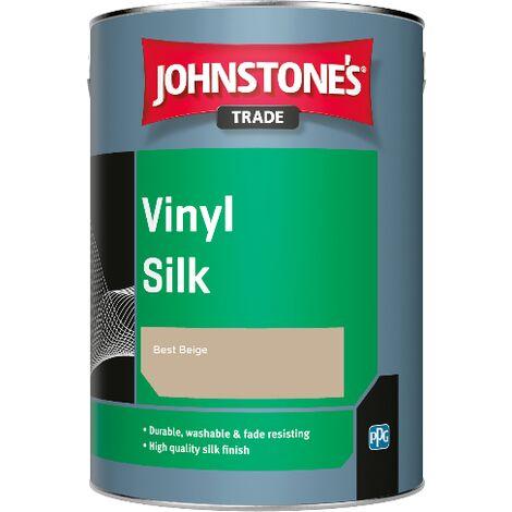 Johnstone's Trade Vinyl Silk - Best Beige - 2.5ltr